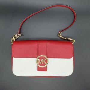 Michael Kors Fulton SM chain flap purse